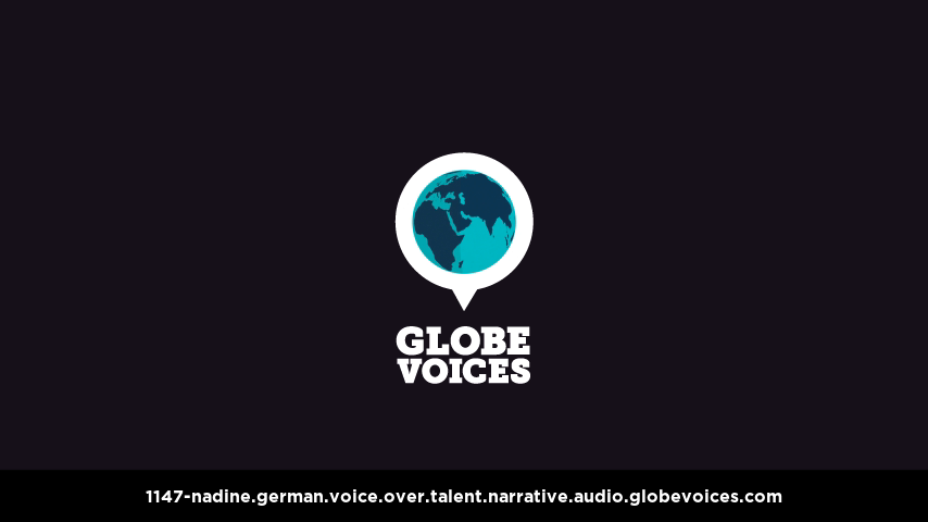 German voice over talent artist actor - 1147-Nadine narrative