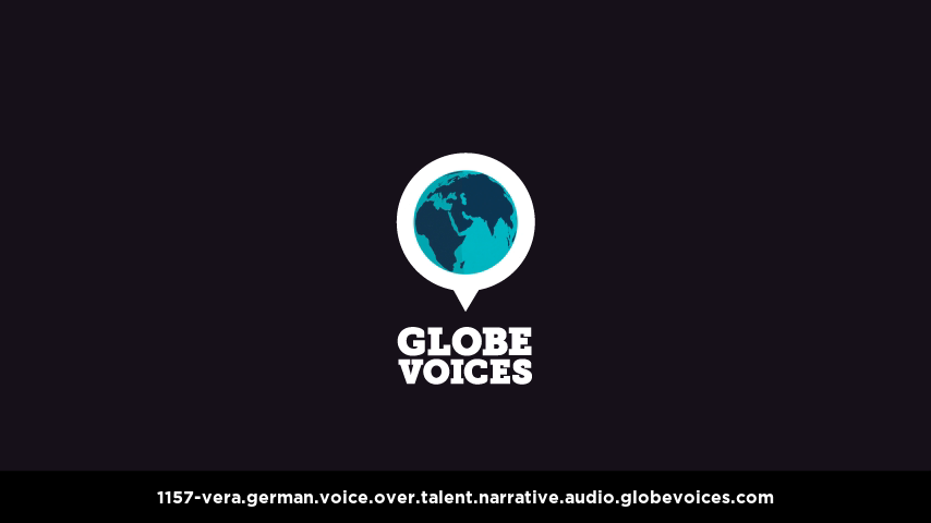 German voice over talent artist actor - 1157-Vera narrative