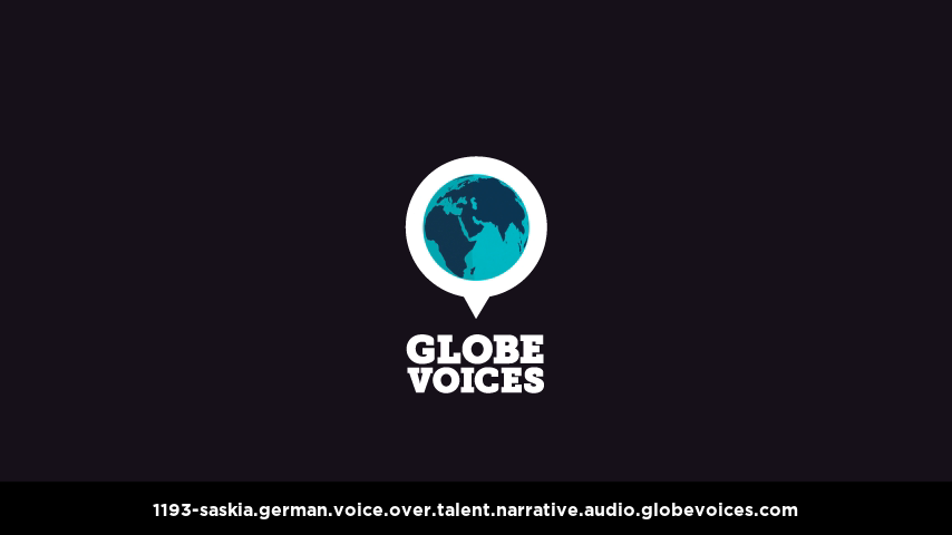 German voice over talent artist actor - 1193-Saskia narrative