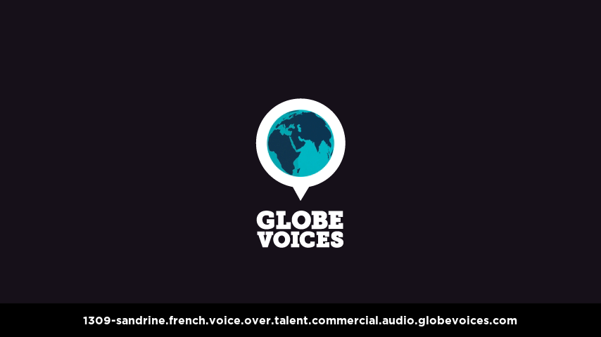 French voice over talent artist actor - 1309-Sandrine commercial