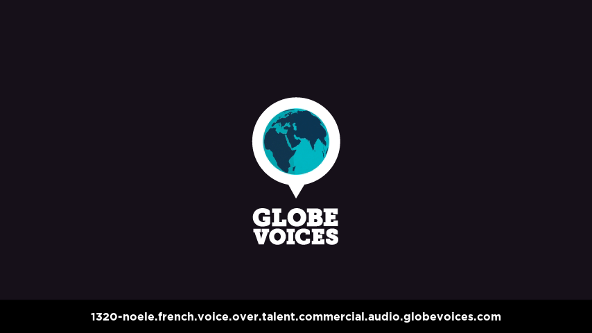 French voice over talent artist actor - 1320-Noele commercial