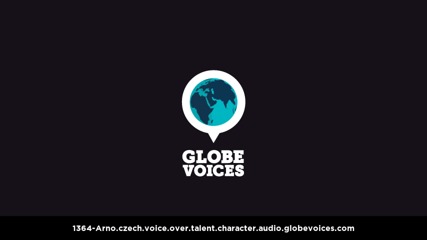 Czech voice over talent artist actor - 1364-Arno character