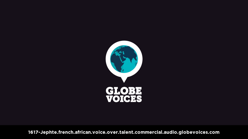 French (African) voice over talent artist actor - 1617-Jephte commercial