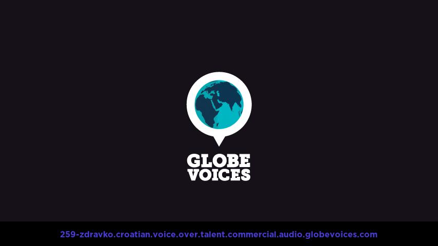Croatian voice over talent artist actor - 259-Zdravko commercial