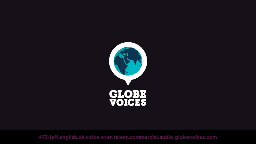 British voice over talent artist actor - 473-Jeff commercial