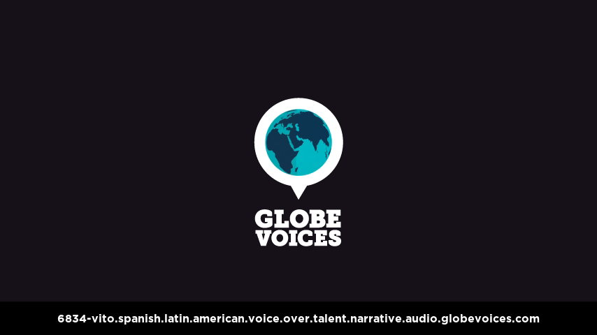 Spanish (Latin American) voice over talent artist actor - 6834-Vito narrative