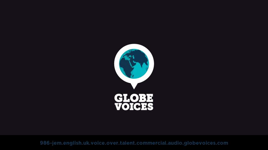 British voice over talent artist actor - 986-Jem commercial